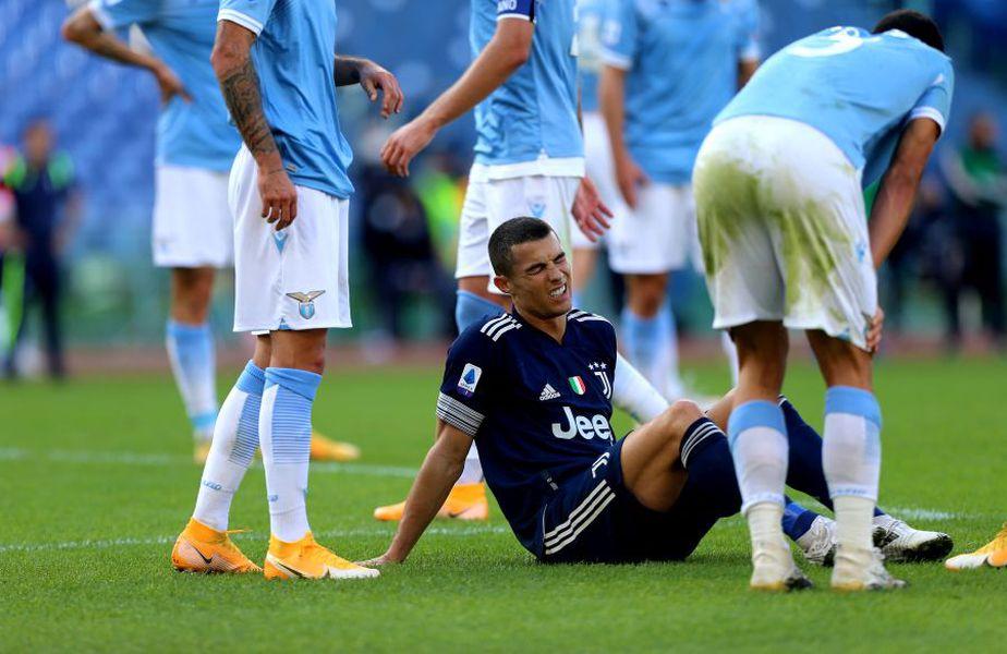 Cristiano Ronaldo, accidentat în Lazio - Juventus 1-1 // foto: Guliver/gettyimages