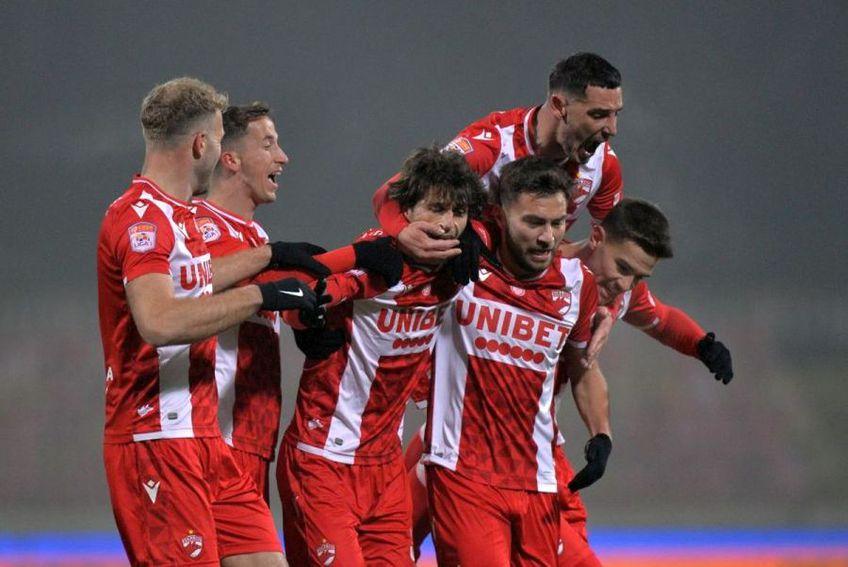 """Fabbrini a reușit o """"dublă"""" în Dinamo - Viitorul 3-0"""