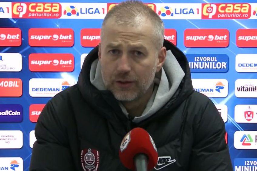 Edi Iordănescu a debutat cu victorie la CFR Cluj