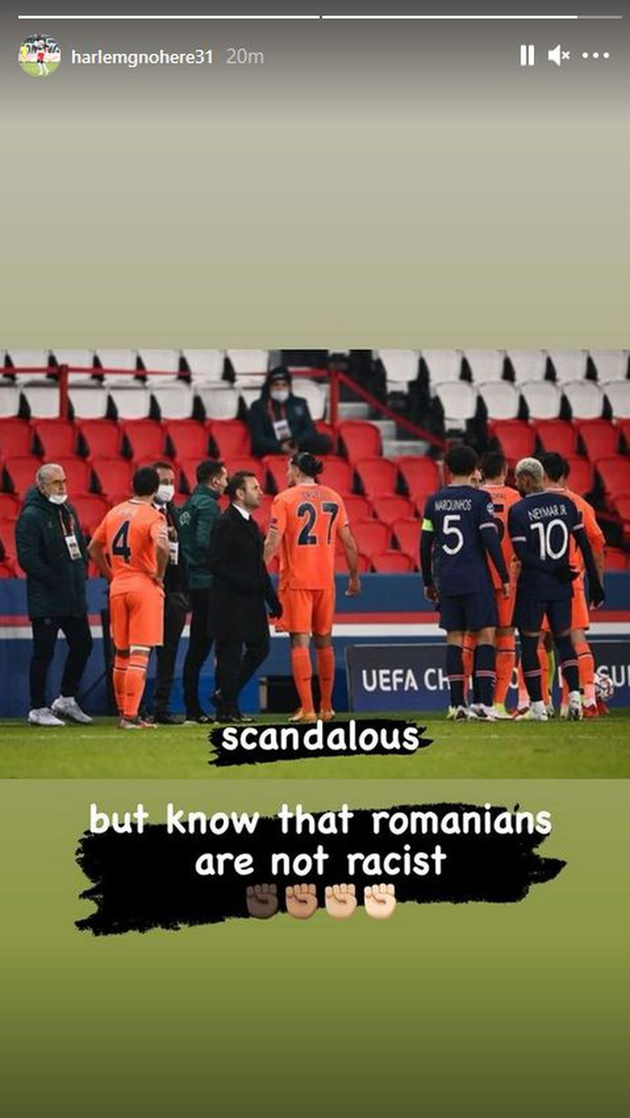 """Sebastian Colțescu, derapaj rasist în Liga Campionilor. Harlem Gnohere și Billel Omrani, reacție promptă: """"Scandalos"""" + ce au scris despre România"""