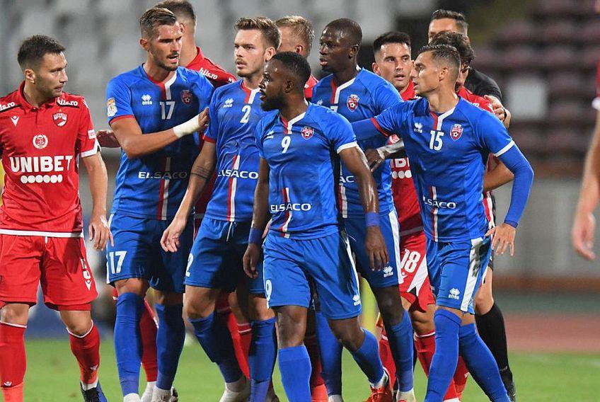 Denis Haruț (numărul) are 62 de meciuri în Liga 1, pentru ACS Poli Timișoara și FC Botoșani