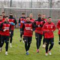 Jucătorii lui Dinamo s-au antrenat astăzi la Săftica. Sursă foto: FC Dinamo Official
