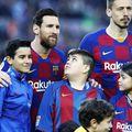 Leo Messi e un magnet pentru copii / Sursă foto: Imago Images