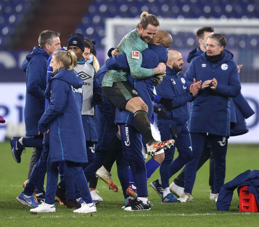Schalke 04 a obținut prima victorie în Bundesliga după 30 de meciuri, 4-0 contra lui Hoffenheim.