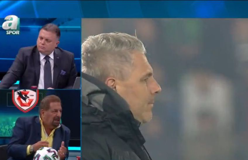 """Marius Șumudică a fost victima unui derapaj rasist, în direct la televiziunea turcă """"a Spor""""."""