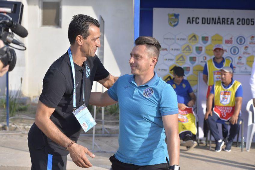 Bogdan Vintilă, alături de Ilie Poenaru, foto: GSP
