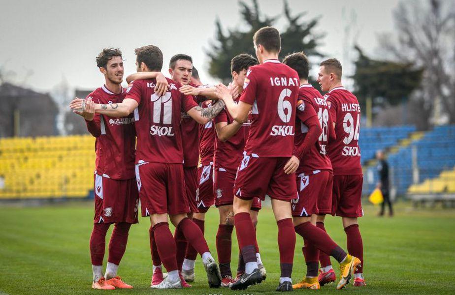 Rapid luptă pentru promovarea în Liga 1 // foto: Facebook @ FC Rapid 1923