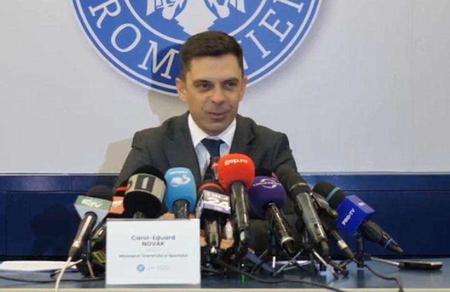 Carol-Eduard Novak, ministrul Tineretului și Sportului