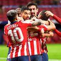Luis Suarez înscrie ca un automat pentru Atletico Madrid, ajungând la 16 goluri în 17 etape, foto: Guliver/gettyimages