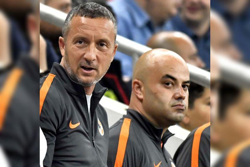 Mihai Stoica și Cătălin Făiniși, omul pe care ar fi trebuit să-l înlocuiască MM, conform viziunii lui Becali de restructurare a organigramei FOTO sportpictures.eu