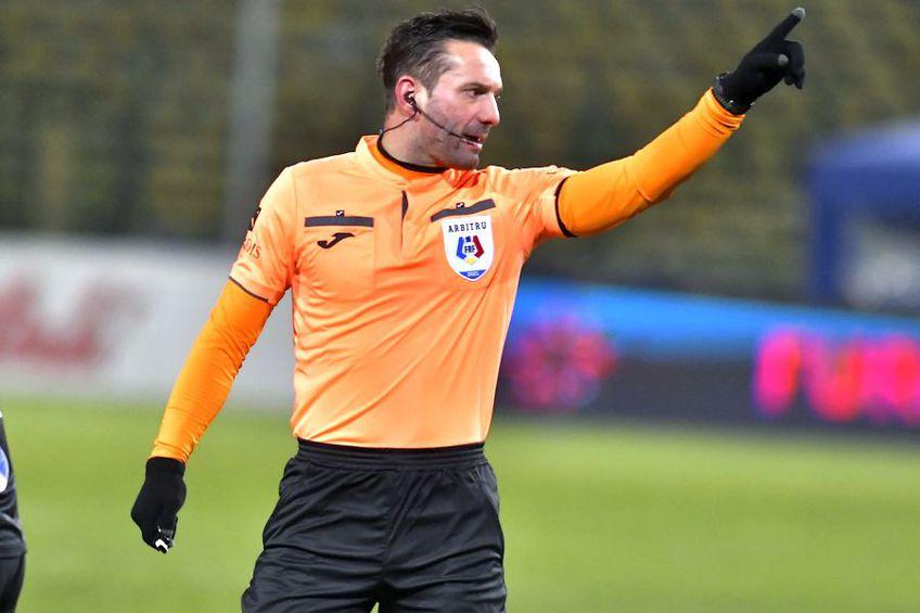 Sebastian Colțescu, la FC Argeș - Viitorul, pe 12 februarie // foto: Imago