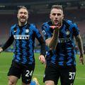 Inter a legat a șaptea victorie (1-0 cu Atalanta) și are 10 la rând acasă.