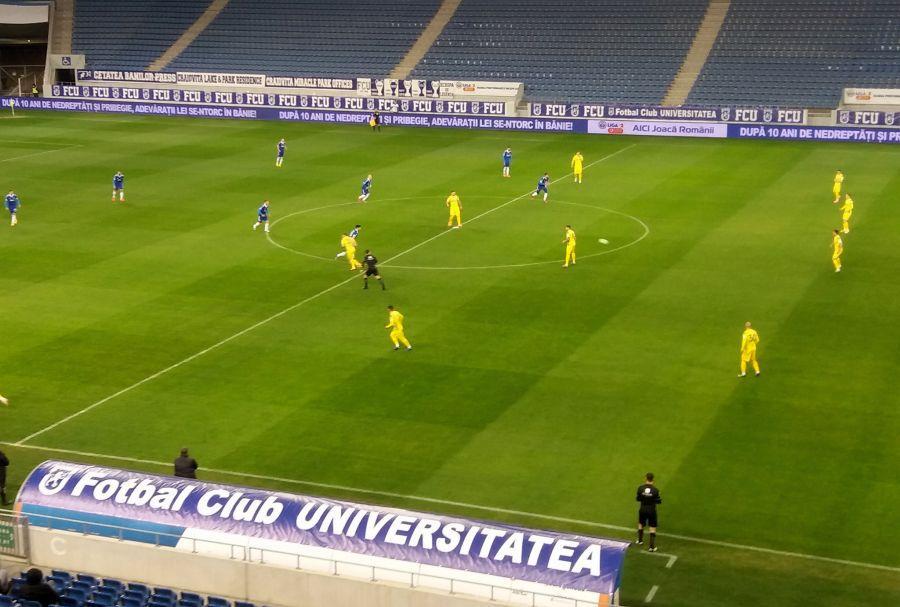 FC U Craiova - CS Mioveni FOTO: facebook.com/csmioveni.ro