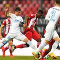Magaye Gueye a evoluat o repriză în derby-ul cu FCSB / FOTO: Imago-Images