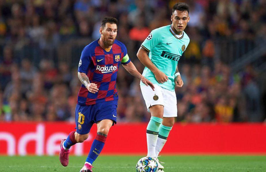 Lionel Messi ar putea ajunge la Inter Milano. foto: Guliver/Getty Images