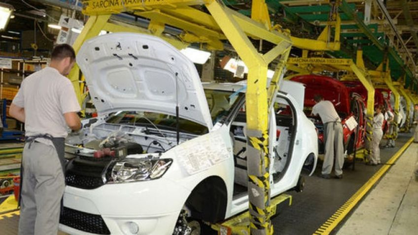 Uzina Dacia își reia treptat activitatea