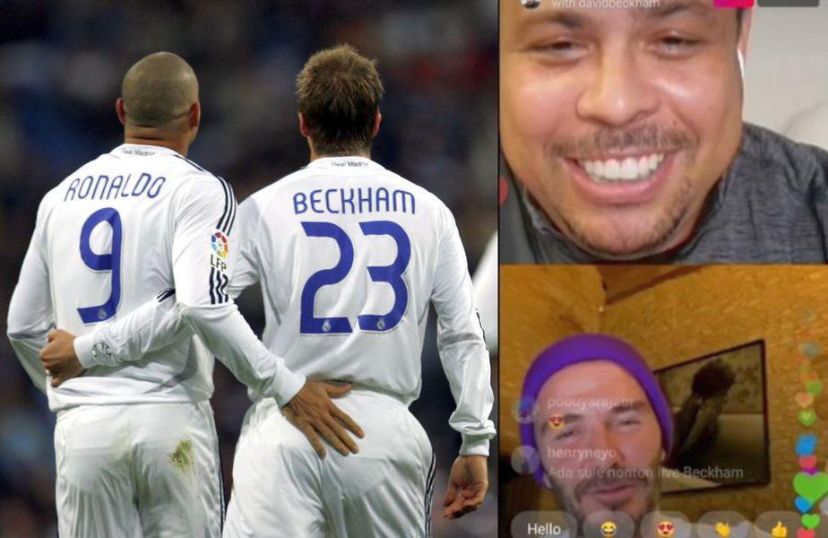 Ronaldo a purtat discuții alături de foștii săi colegi de la Real Madrid // sursă foto: Guliver/gettyimages