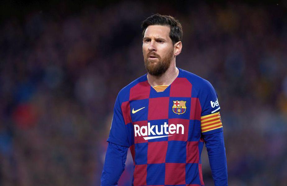 Lionel Messi neagă zvonurile care îl dau ca și plecat de la Barcelona // sursă foto: Guliver/gettyimages