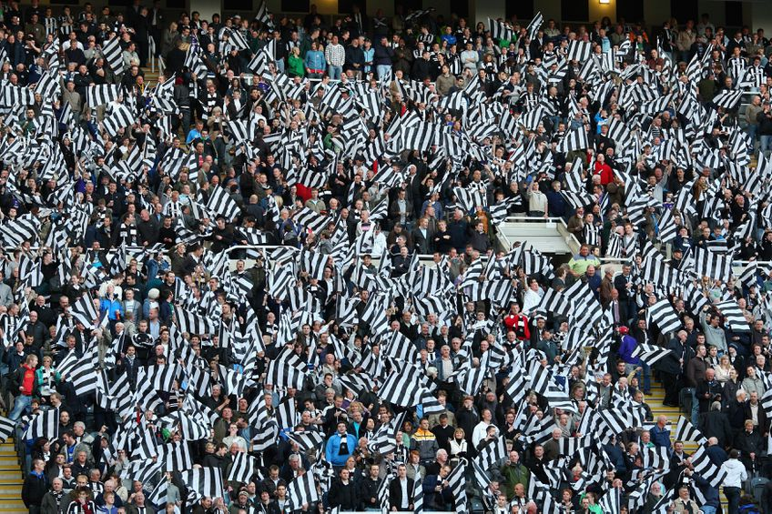 Suporterii lui Newcastle United FOTO Guliver/Getty Images
