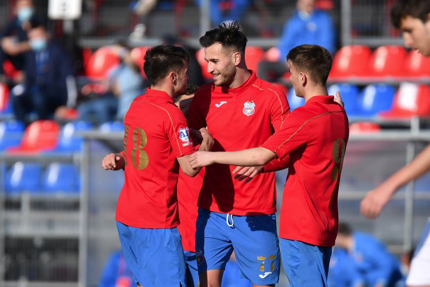 CSA Steaua București a învins Concordia Chiajna 2 FOTO AS47