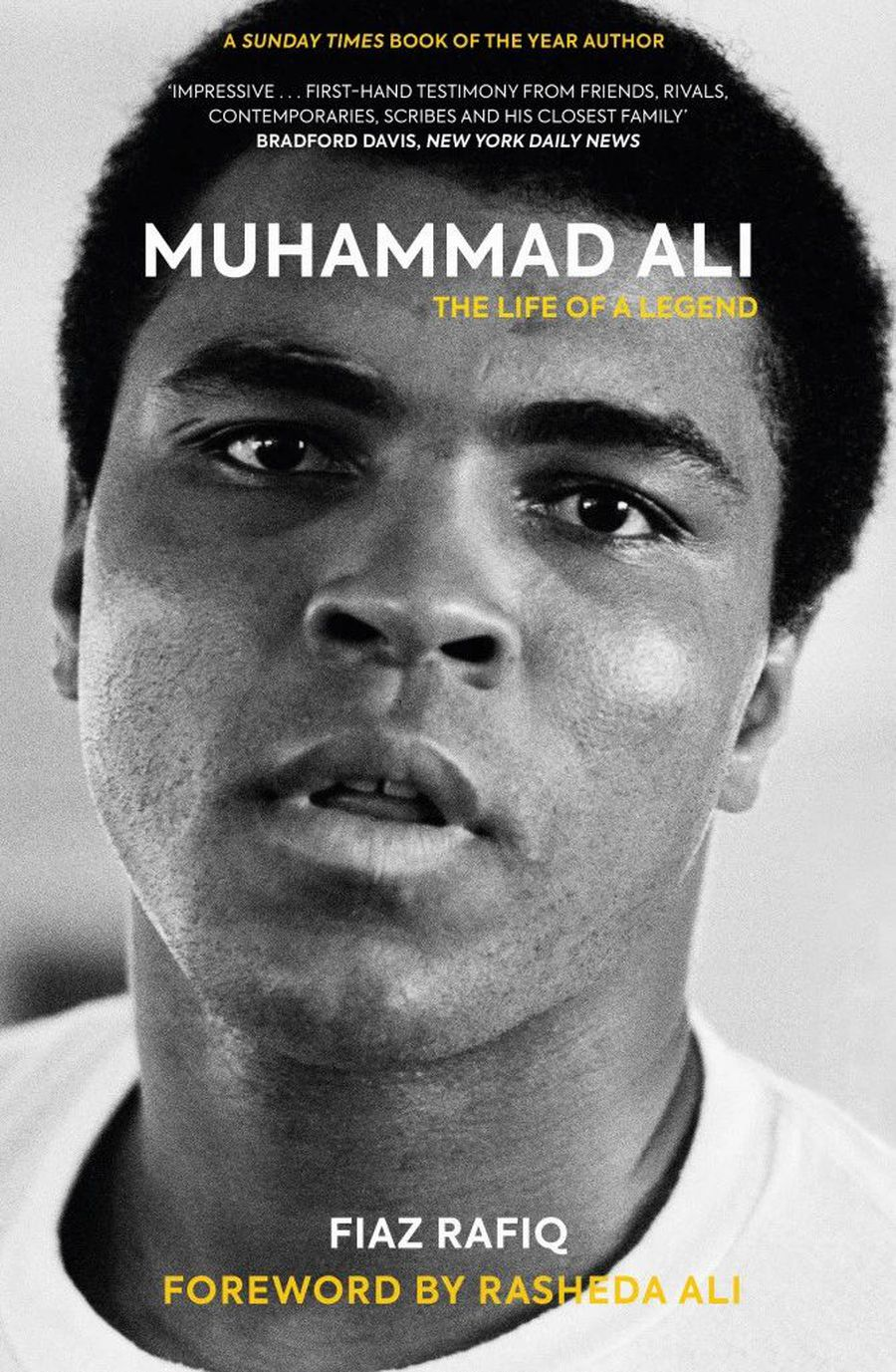 "Cartea ""Muhammad Ali: The Life of a Legend"", scrisă de Fiaz Rafiq"