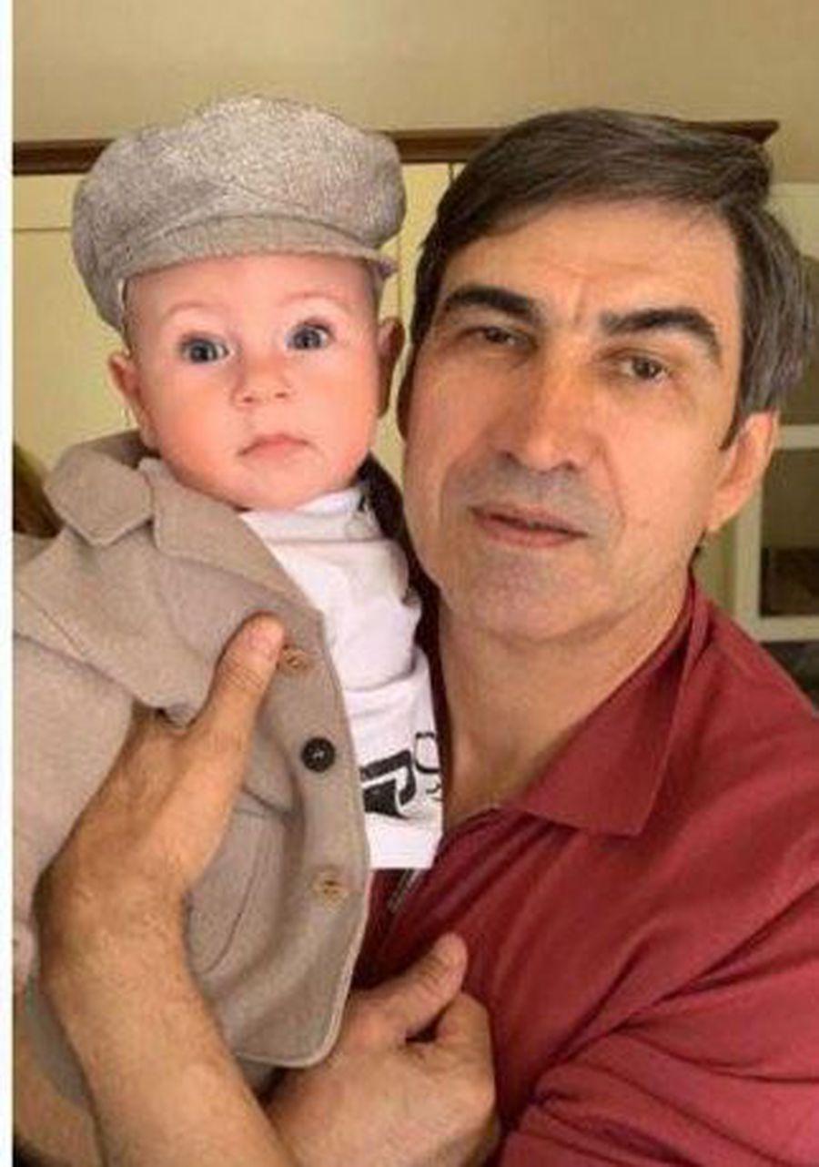 Victor Pițurcă și Noah, fiul lui Alex