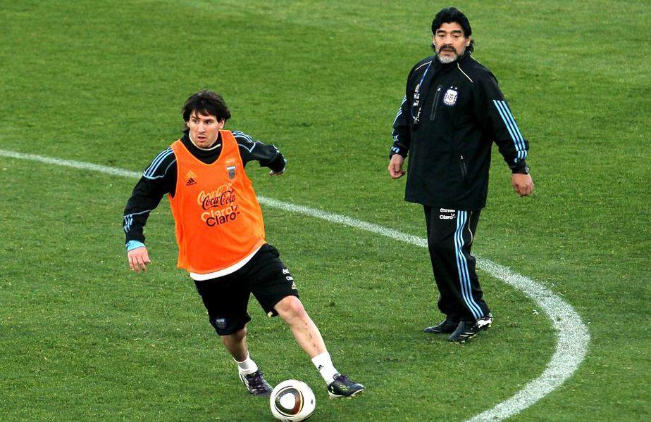 Fabio Cannavaro i-a comparat pe marii fotbaliști argentinieni Lionel Messi și Diego Maradona // sursă foto: Guliver/gettyimages