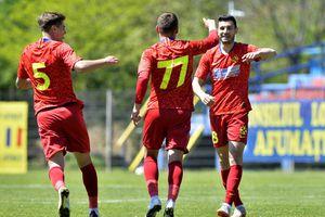 """CS Afumați - FCSB 2 0-1. """"Satelitul"""" lui Becali, victorie în turul """"barajului""""! Se conturează șocul cu CSA Steaua"""