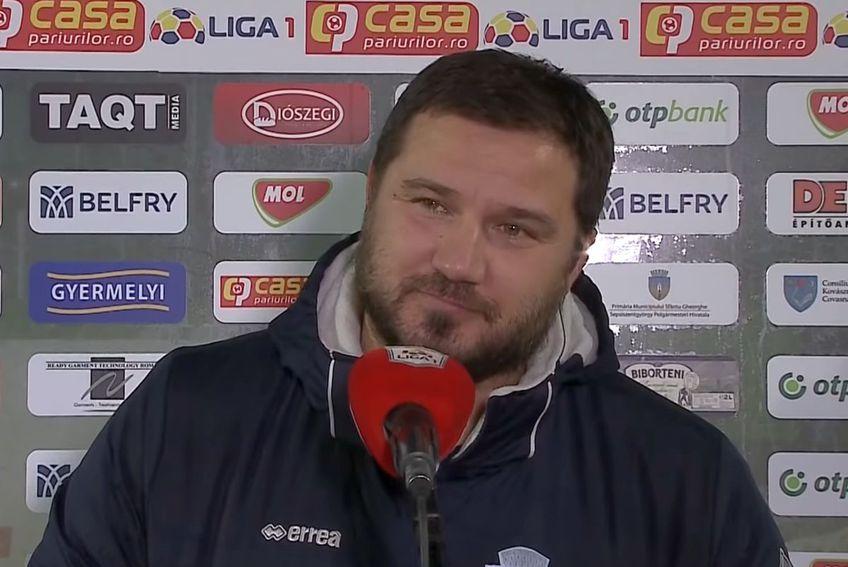 Marius Croitoru, antrenor FC Botoșani // foto: captură YouTube @ Look Sport