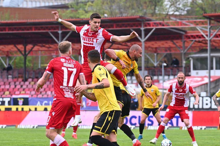Dinamo a scăpat de posibilitatea unei retrogradări directe, dar încă poate ajunge în Liga 2 prin baraj, FOTO: Raed Krishan