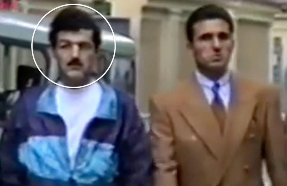 """Gigi Becali cu ochiul umflat, alături de Gică Hagi. Sursă foto: YouTube """"Replay"""""""