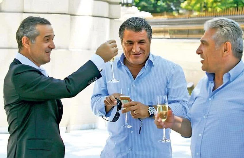 Gigi Becali, Victor Becali și Giovanni Becali.
