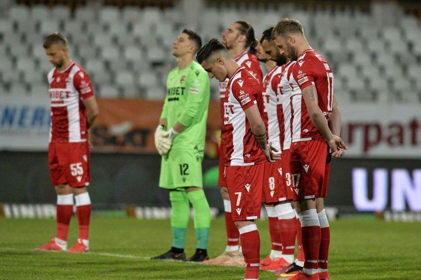 Dinamo se află într-o ipostază groaznică: nu poate legitima jucători, iar mulți dintre cei aflați în lotul din sezonul trecut au plecat sau vor pleca // FOTO Cristi Preda
