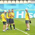 Naționala Ucrainei a luat contact cu stadionul din Voluntari, locul unde își va desfășura antrenamentele în vederea Euro 2020.