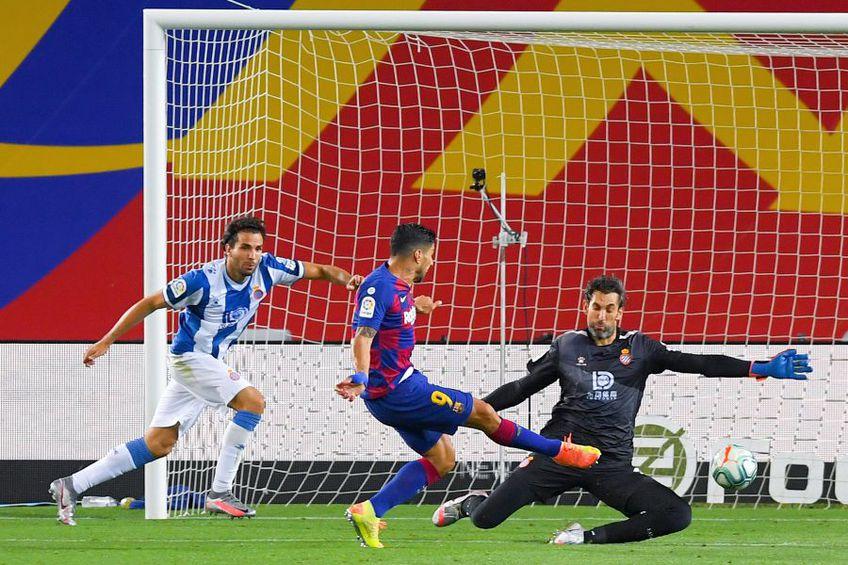 Luis Suarez a marcat golul victoriei // FOTO: Guliver/GettyImages