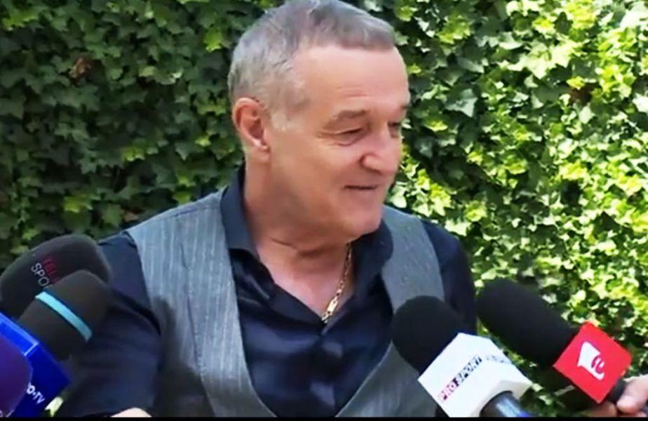 Gigi Becali s-a amuzat teribil în timpul ultimului interviu acordat