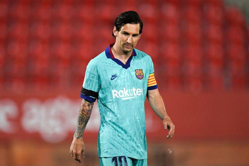 Lionel Messi și Barcelona nu se mai află în cele mai cordiale relații. foto: Guliver/Getty Images