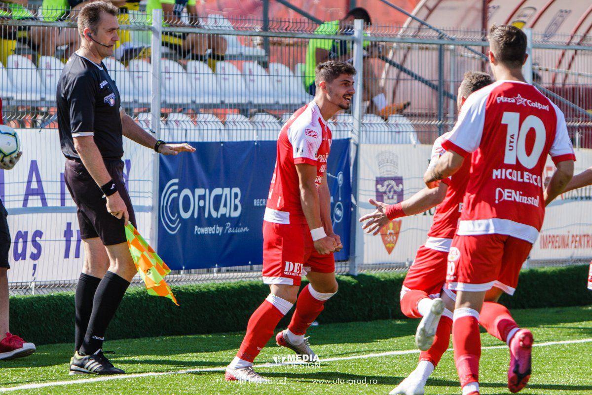 UTA - Turris 3-4. VIDEO Meci entuziasmant la Arad » Turris se impune în minutul 90 și vine la un punct de lider! Clasamentul ACUM