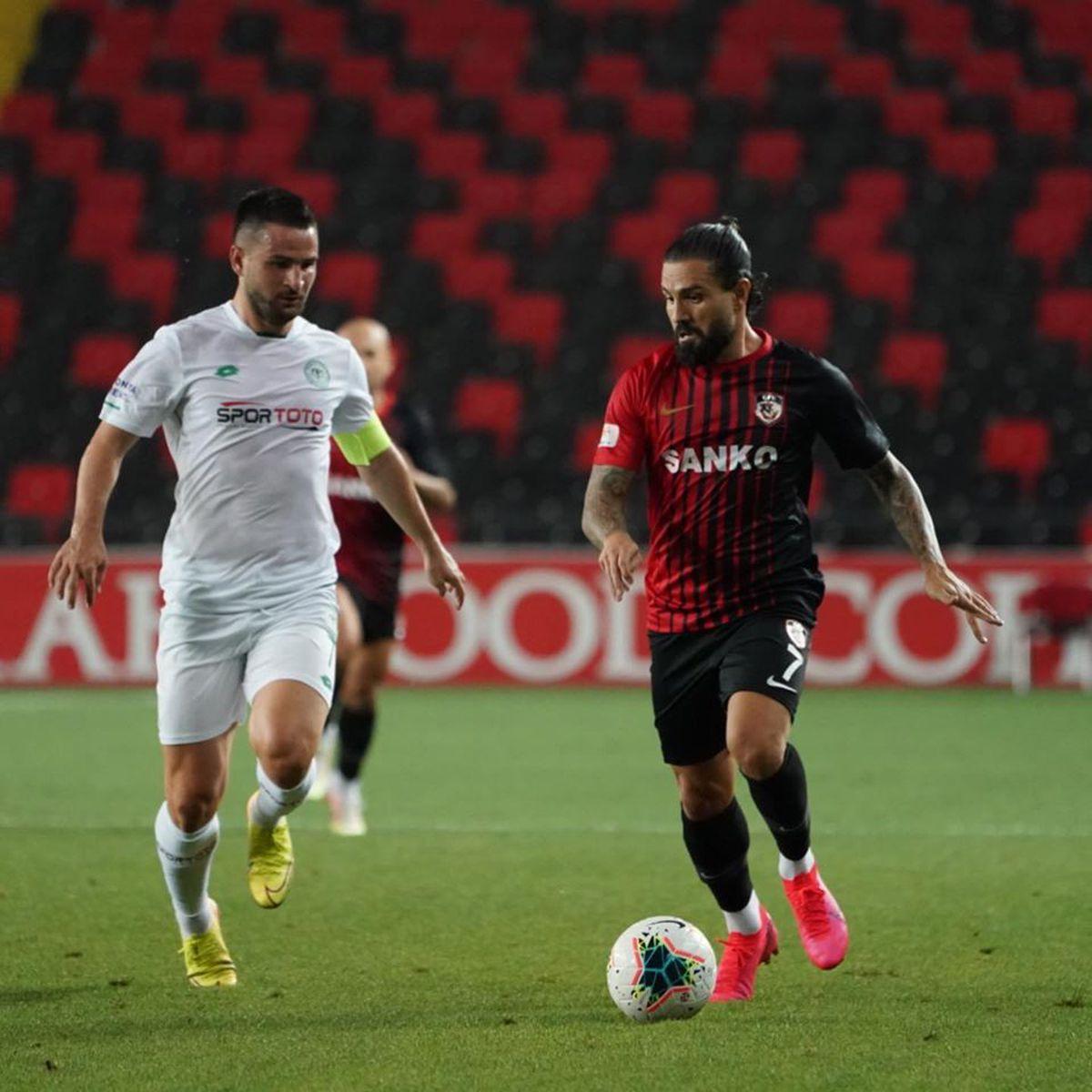 Șumudică, Maxim și Toșca, victorie cu Konyaspor