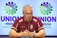 """Marius Șumudică îi răspunde lui Sorin Cârțu și își anunță principalul obiectiv la CFR Cluj: """"Vreau să fac bani!"""""""