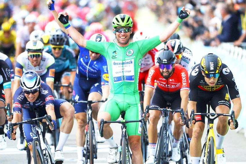 Mark Cavendish a egalat recordul legendarului Eddy Merckx de număr de succese în Turul Franței.