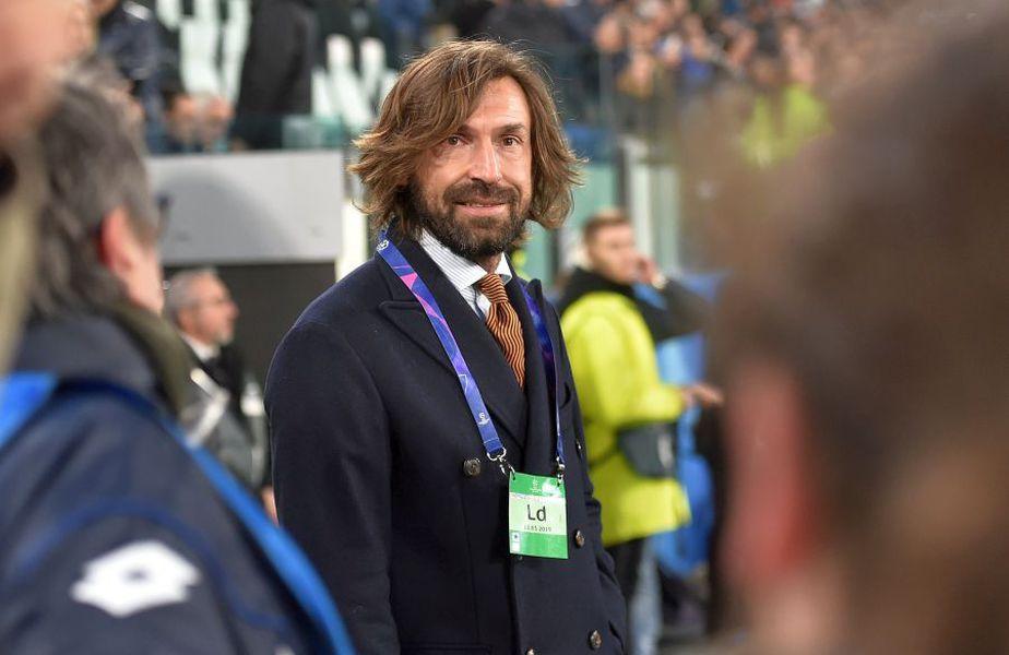 Pirlo nu are nici licența Pro