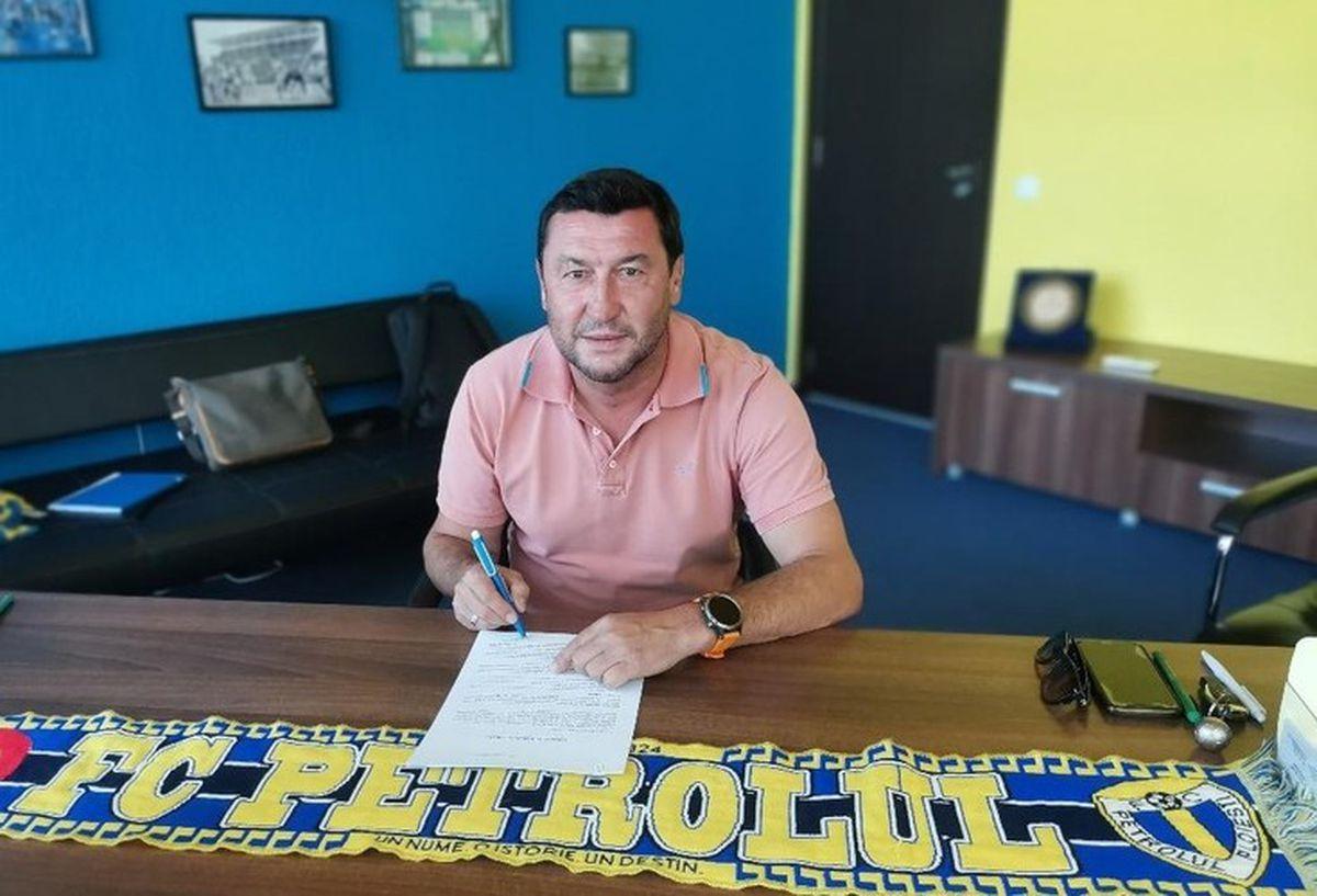EXCLUSIV // UPDATE Petrolul și-a găsit antrenor! Viorel Moldovan a fost prezentat oficial