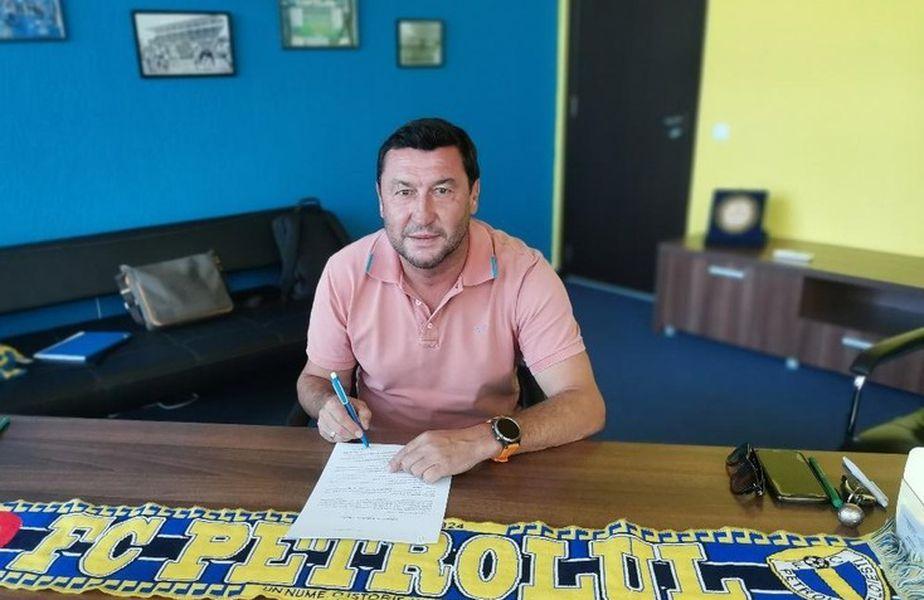 Petrolul Ploiești a semnat azi cu noul antrenor: Viorel Moldovan (48 de ani)