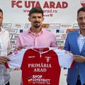 Vlad Morar a semnat cu UTA Arad