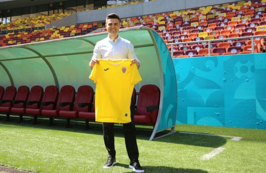 Florin Bratu este noul antrenor al României U21 Foto:FRF