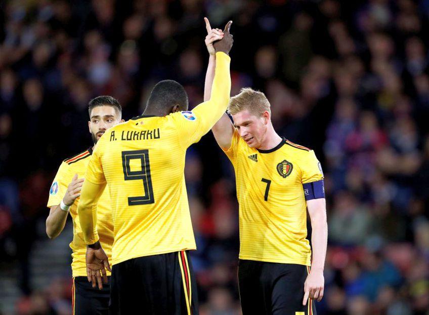 Belgia - Islanda: Oaspeții au probleme serioase în defensivă, la gazde revin Hazard și De Bruyne