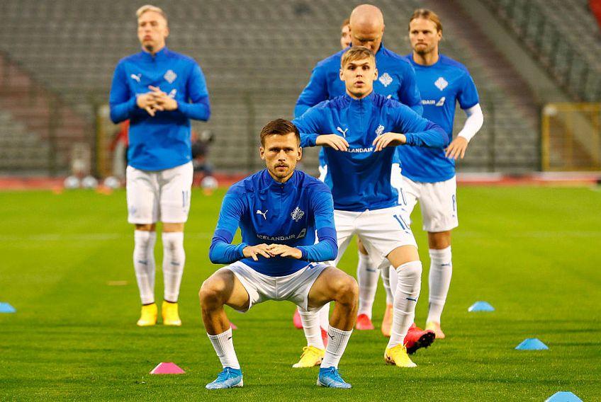 Jucătorii din Islanda vor să învingă România în barajul pentru EURO 2020 // FOTO: Reuters