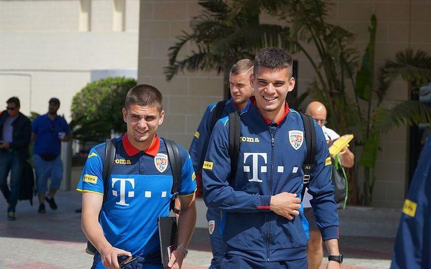 Răzvan Marin și Ianis Hagi Foto:frf
