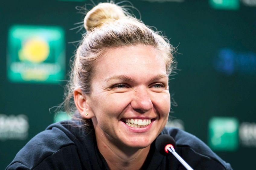 Simona Halep, după meciul cu Marta Kostyuk // foto: Imago Images